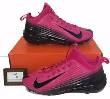 Nike Mens Size 14 Lunar Vapor Trout Player Edition Pink Metal Baseball Cleats