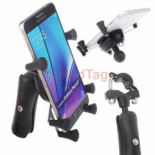 Motorcycle Bike MTB Bicycle Handlebar Mount Universal X-Grip Cell Phone Holder