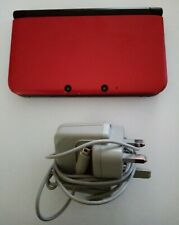 Nintendo 3DS XL - Red - Includes Official Charger