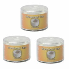 3 Pack of CMS Adhesive Medical Surgical Micropore Tape Cap & Spool 2.5cm x 5m