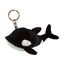 Killer Whale Plush Keychain NEW Toys Soft Stuffed Plushie Keyring Puzzled Inc