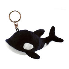 Killer Whale Plush Keychain NEW Toys Soft Stuffed Plushie Keyring Puzzled Inc