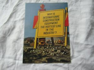IH International W5 pay hauler 150 crawler tractor scraper loader brochure