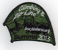 2013 National Jamboree Promo Tent Patch Series, Climbing & Zip-Line, Mint!
