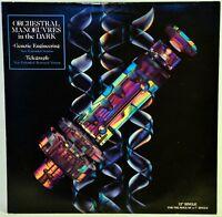 "Dazzle Ships Orchestral Manoeuvres In The Dark 12"" Single LP Album Vinyl Virgin"