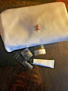 NEW Perricone MD White Jet Set Cosmetic Bag + Cold Plasma Plus Face Firming etc.
