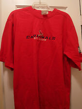 St. Louis Cardinals 2004 World Series Men's SS T- Shirt, Size Large, Preowned