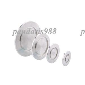 5Typle KF10/16/25/40/50 Blank Flange Blind Flange Cap Vacuum Fitting SS 304