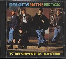 NEW KIDS ON THE BLOCK CD TOUR SOUVENIR Collection