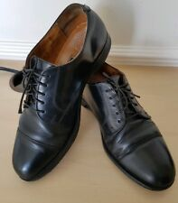 Vintage Cole Haan Men's Black Leather Dress  Shoes US 9.5D UK 8.5 EU 42.5
