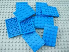 LEGO Lot of 10 Blue 4x6 Plates