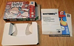 Rugrats Scavenger Hunt - Nintendo 64 N64 - Box and inserts Only