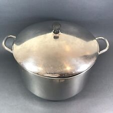 Farberware 12 Qt Stock Pot with Lid Aluminum Clad Stainless Steel Soup Seafood