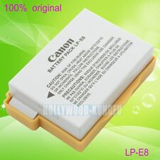 Genuine Original Canon LP-E8 LPE8 Battery for EOS 550D 700D X4 X5 T2i T3i LC-E8E