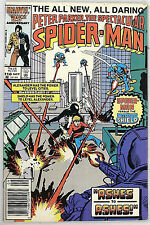 Marvel Comics Group Peter Parker The Spectacular Spider-Man #118  Ashes to Ashes