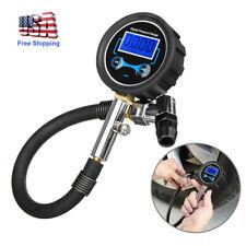 Digital Tire Air Inflator Pressure Gauge 200 PSI Car Truck RV Motorcycle Bike