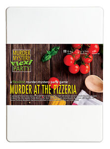Murder at the Pizzeria Italian Murder Mystery Flexi Party for 6-14 Players
