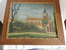 Architecture Signed Art Oil Paintings