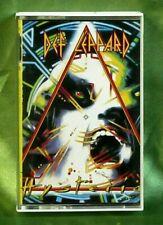 Rare Korean Press Hard Rock Cassette Tape - Def Leppard - Hysteria - Mercury