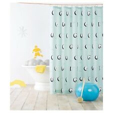 """Pillowfort Many Moons Phase Fabric Shower Curtain 72"""" x 72"""" (1 count)"""