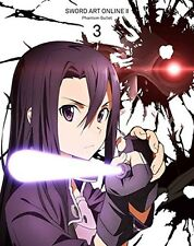 New Sword Art Online II Vol.3 First Limited Edition Blu-ray CD Booklet Japan