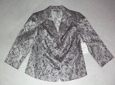 MYER-Dolina: Size: 10. Stylish Soft-Mink/Black-Lace, Fully-Lined, Classic Jacket