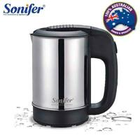 Sonifer Mini Electric Stainless Steel 1000W Portable/ Travel Kettle
