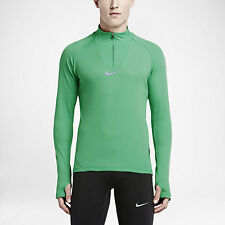 New Mens Nike AeroReact 1/4 Zip Running Performance Pullover Size L Msrp $130