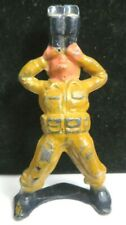 Vintage Manoil Lead Toy Soldier Aircraft Spotter M-193