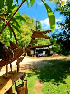Dancing Dragon Wind Chimes from Bali