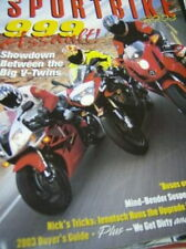 Cycle's Sportbike 2003 Magazine 999 Assault