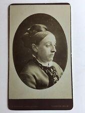 Victorian Carte De Visite CDV Photo - Alpha Studio - Tunbridge Wells - Lady