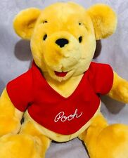 "Disney 15"" Plush Winnie the Pooh Bear Stuffed Animal"