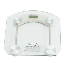 Digital LCD Glass Electronic Weight Body Bathroom Health Scale 180KG/330LB