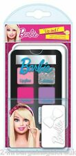 "BARBIE ""LIP & i"" Girl ""S MAKE-UP COMPACT SET"