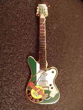 Hard Rock Cafe Pins 1999 online Green & white Guitar  #2742