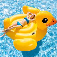 Aufblasbares Schwimmtier-Ente Bestway Schwimminsel Luftmatratze Pool Kinder Ring Kinderbadespaß