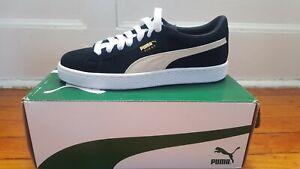 Grade School Puma sneakers, Black/white US size 7