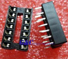 100PCS 14-Pin 14pins DIL DIP IC Socket PCB Mount Connector NEW GOOD QUALITY