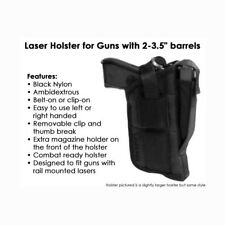 Tactical Laser Holster for Taurus & Millennium G3c G2 G2C G2S Tx w/laser mounted