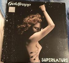 "GOLDFRAPP SUPERNATURE LP GATEFOLD 2005 MADE IN UK 12"" VINYL STUMM250"