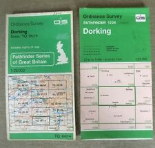 Ordnance Survey Pathfinder Maps Of Dorking - Sheet 1226 TQ04/14 1981 And 1997