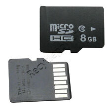 8GB 8G Class 10 Micro SD Memory Card TF Flash SDHC For smart  Phone Samsung