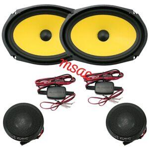 "JL Audio C1-690 C1 Series 6""x9"" 2 way component speaker 225 Watts Peak Power"