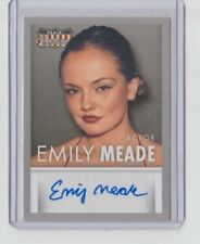 Panini Americana Nerve & Leftovers Emily Meade Autograph Trading Card #S-EM