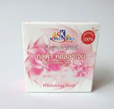 Gluta Collagen Whitening Soap Reduce Dark Spot Acne Anti Aging Smooth Soft Face#