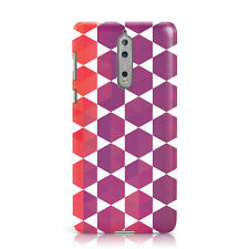 DYEFOR GEOMETRIC COLOURFUL DESIGN 15 PHONE CASE COVER FOR NOKIA
