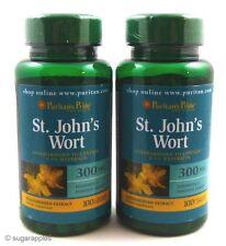 2X ST. JOHN'S WORT 300 Mg 100 Caps 0.3% Hypericin