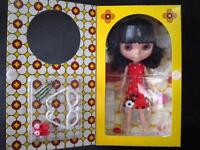 Takara Tomy CWC Neo Blythe Fancy Pansy Free Shipping 1/6 Fashion Doll