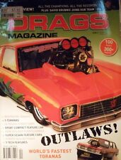 Drags Magazine Issue 4 - Outlaws! Worlds Fastest Toranas